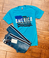 America Shall Be Saved - Tee