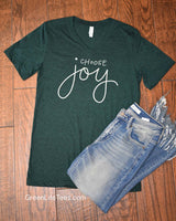 Choose Joy - V-neck Tee