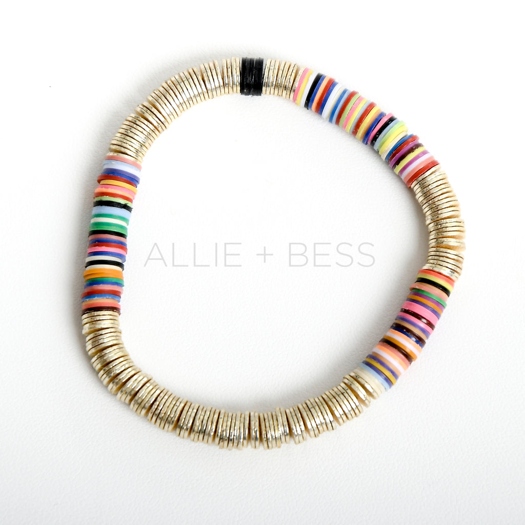 Winter Rainbow Gold Base 6mm