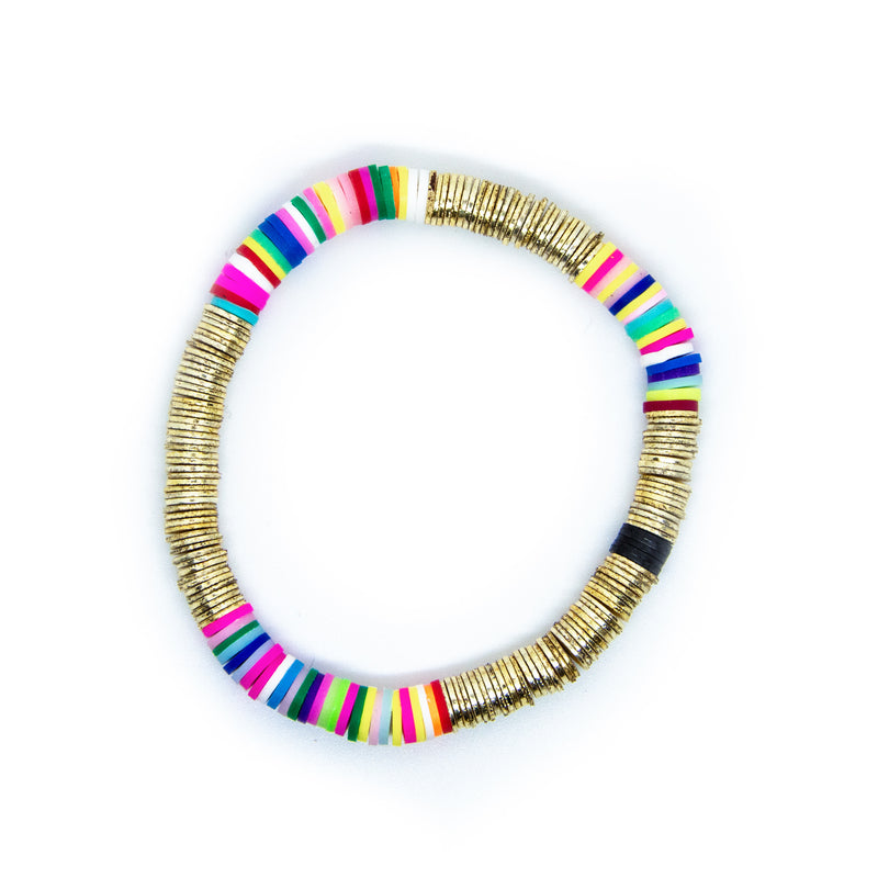 Bright Rainbow Gold Base 6mm