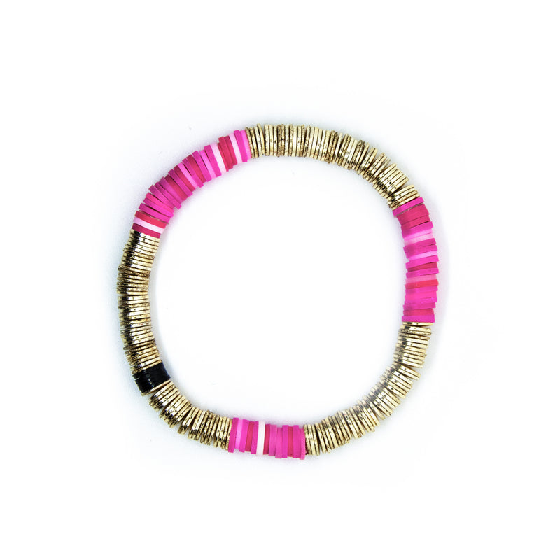 Pink Gold Base Tye 6mm