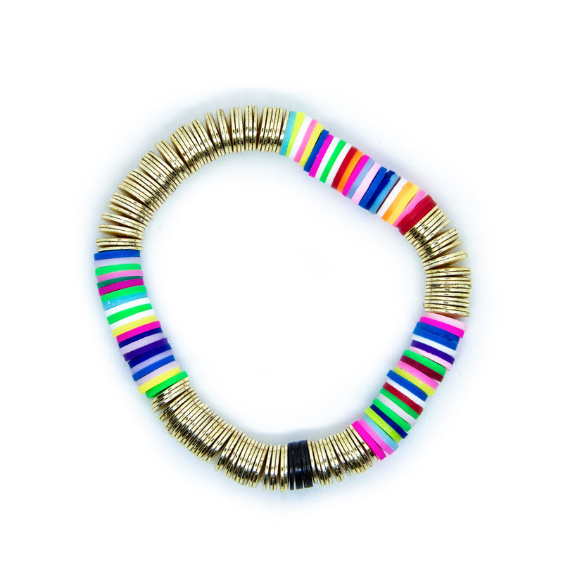 Bright Rainbow Gold Base 8mm