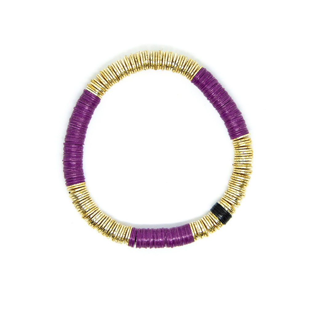 Plum Gold Base 6mm