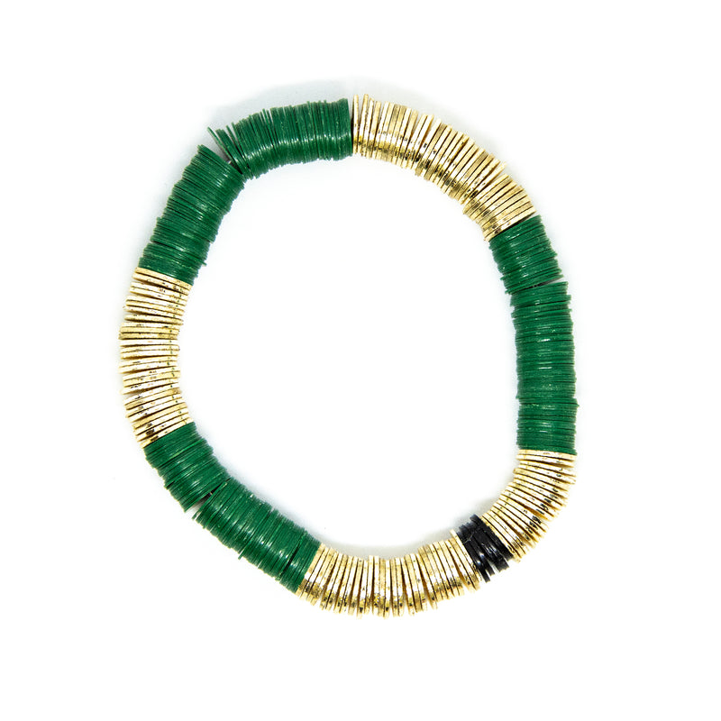 Hunter Green Gold Base 8mm