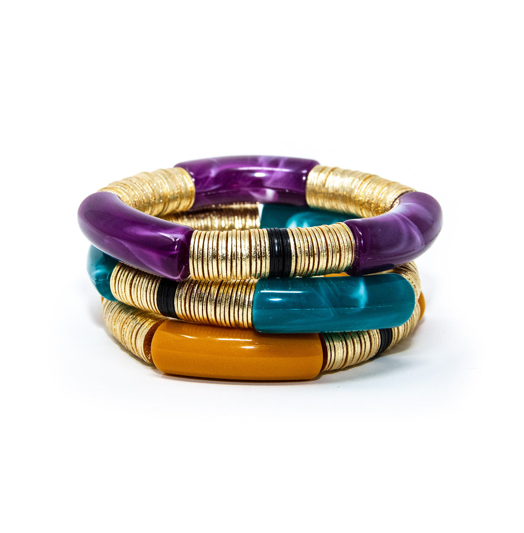 Jewel Toned Stack