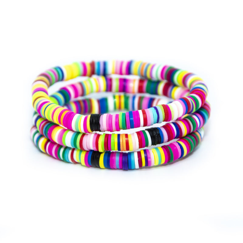 Rainbow Cabana 6mm Stack of 3