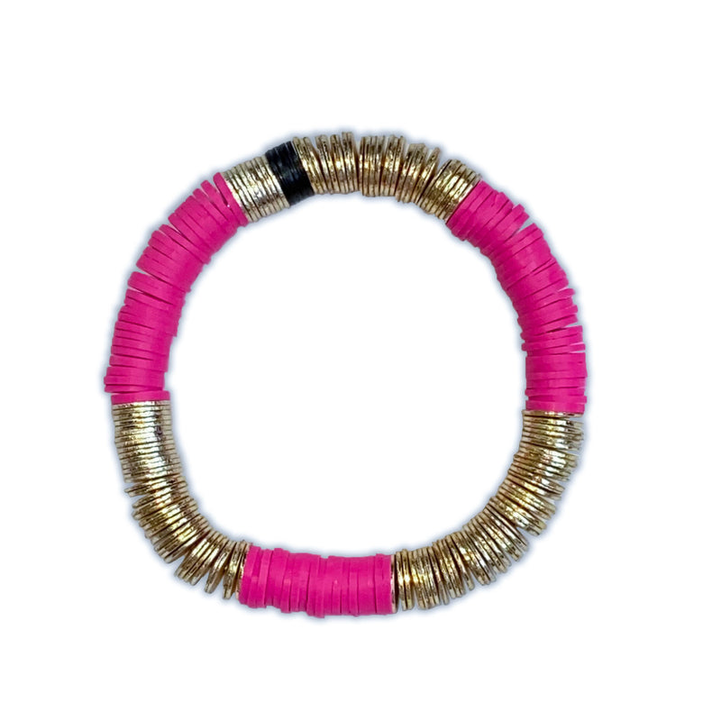 Camelia Pink 8mm Gold Base