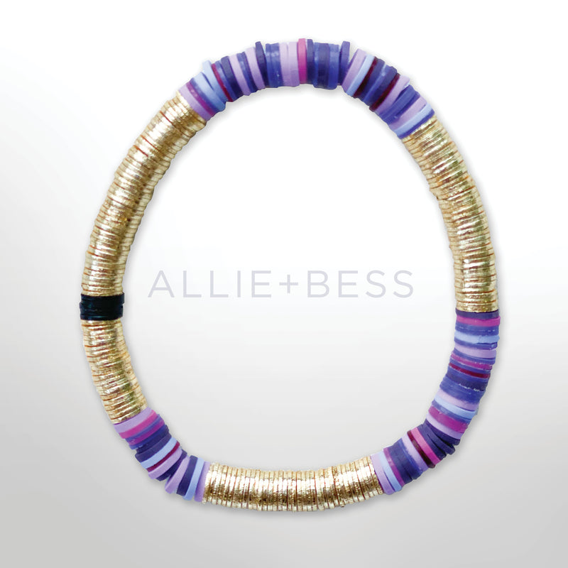 Purple Gold Base Tye 6mm