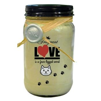 CAT LOVERS WICKLESS SOY CANDLE