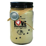 DOG LOVERS WICKLESS SOY CANDLE