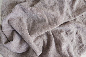 Brown Chambray Linen Fabric