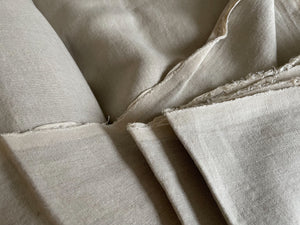 Natural Linen Fabric - Extra Wide Stone Washed Super Soft