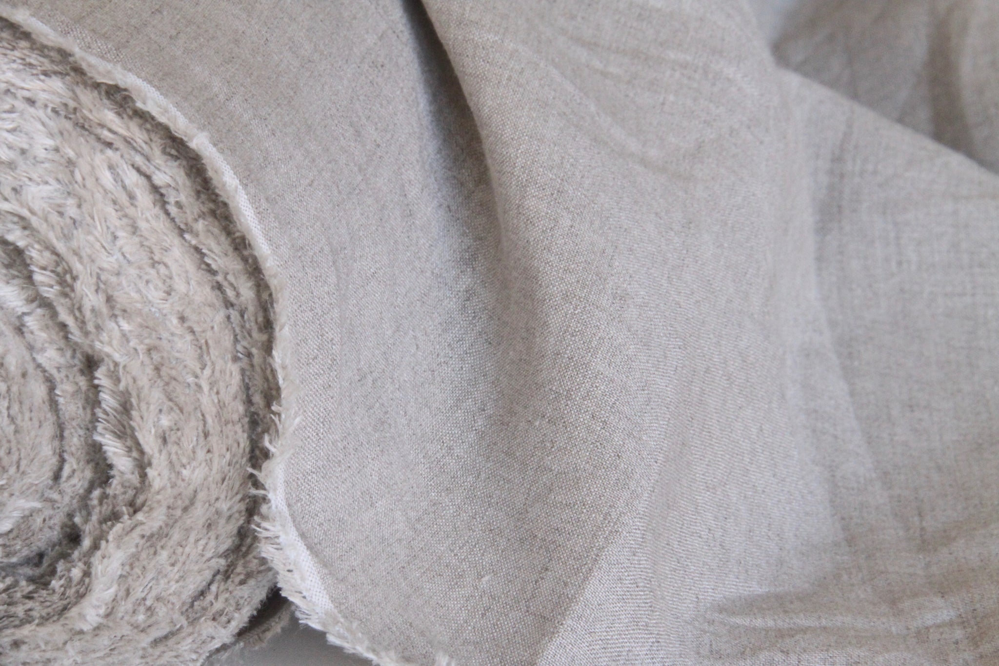 20 Yards Natural Undyed Linen Fabric