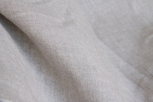 Natural Undyed Linen Fabric - Light to Medium Weight