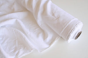 Pure White Linen Fabric