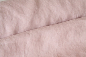 Dusty Rose Linen Fabric