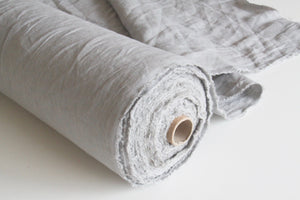 20 Yards Grey Linen Fabric