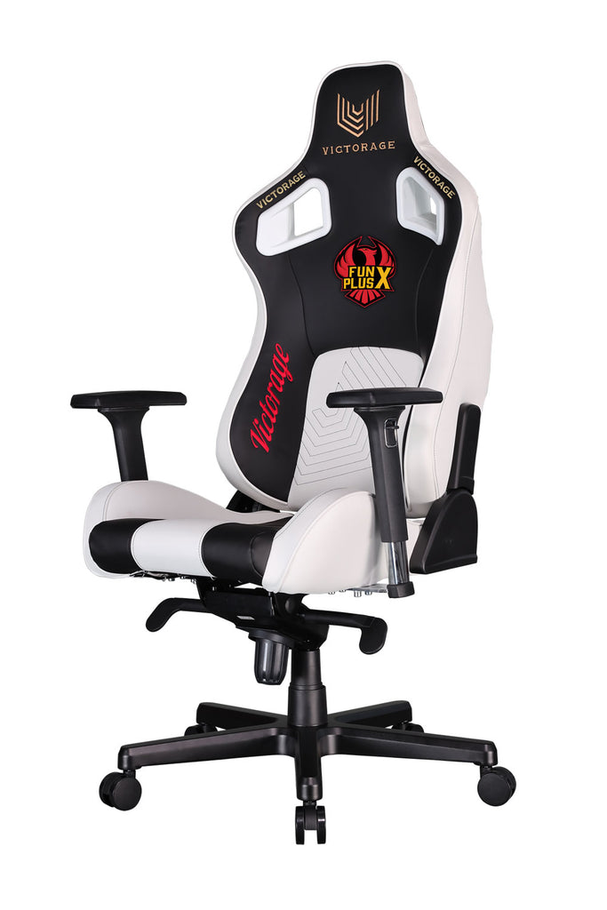 Delta Series White and Black Gaming Chair