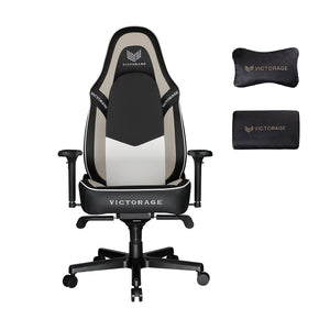 Load image into Gallery viewer, VICTORAGE  PU Leather Home Seat Office Chair(Grey)