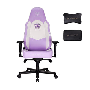 VICTORAGE Premium PU Leather Computer Gaming Chair Home Chair (Purple)
