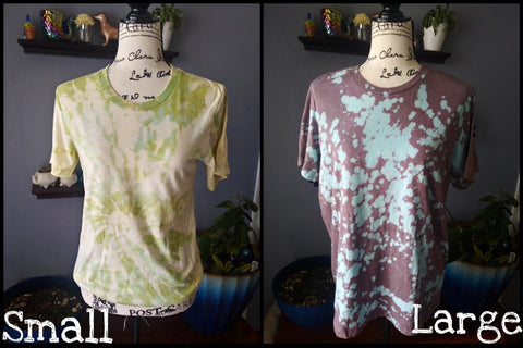 Bleached Tee Special