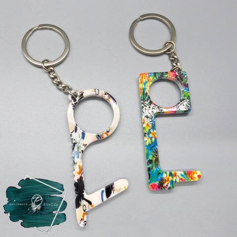 No Touch Keychains