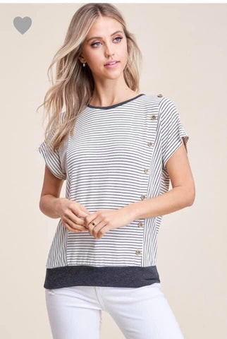 The Amelia Striped Top