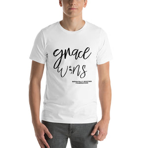 Grace W;ns Throwback Tee - Soulfully Rooted Foundation Corporation
