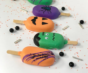 Halloween Cakesicles (Set of 4)