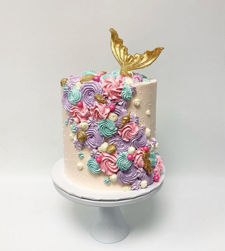 Mermaid For Each Other Cake