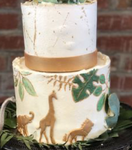Safari Baby Shower Cake - 11/10