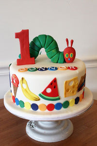 Hungry, Hungry Caterpillar Cake