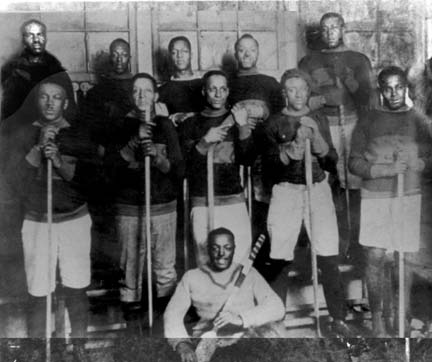 Black Hockey Team
