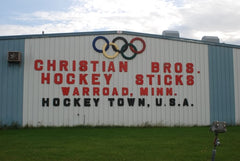Christian Brothers Sign Warroad