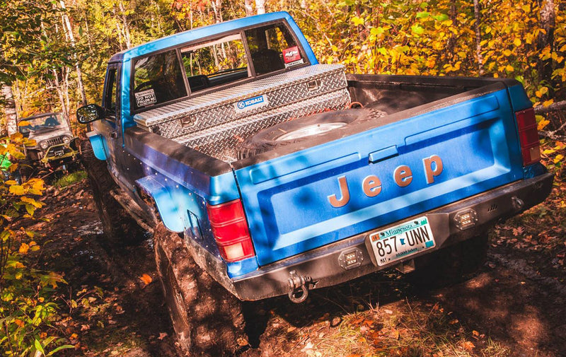 Manta Ray Rear Bumper - Jeep Comanche MJ