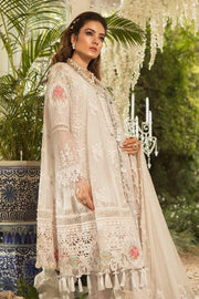MARIAB | MBROIDERED - Pearl White
