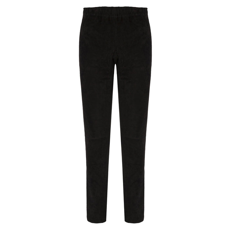 Legging 20 Black Suede
