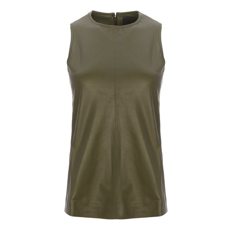 Camisero Commander Green Suede