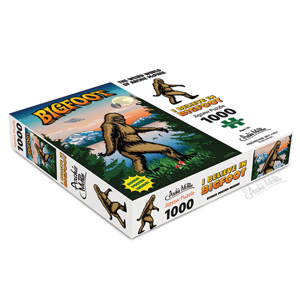 I Believe In Bigfoot Puzzle - Sasquatch The Legend