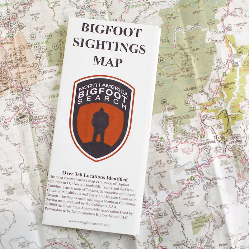 Bigfoot Sightings Map - Latest 2019 Edition - Sasquatch The Legend
