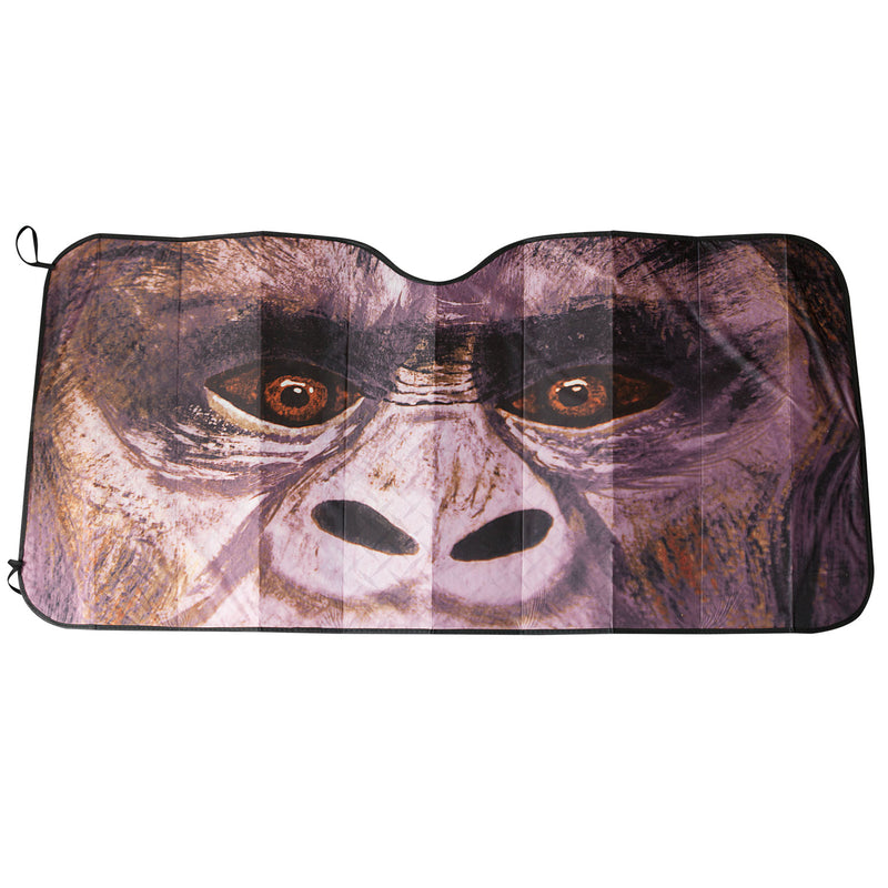 Bigfoot Windshield Sun Shade - Sasquatch The Legend