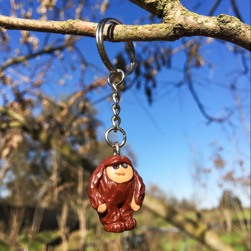 Bigfoot Keychain - Sasquatch The Legend