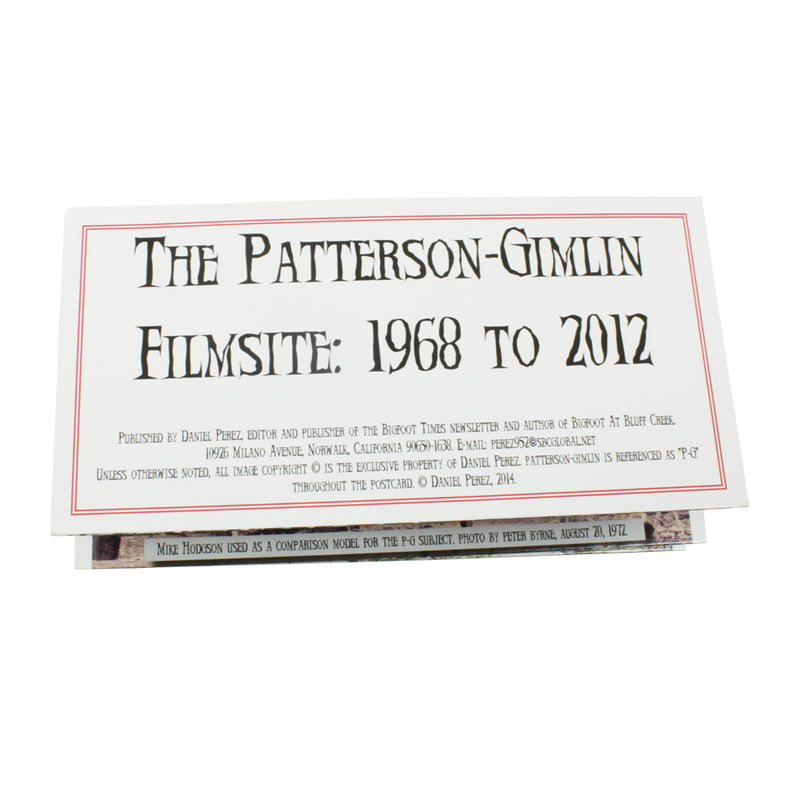 Patterson-Gimlin Film - Filmsite Brochure - Sasquatch The Legend