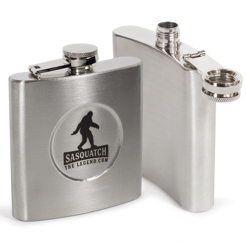 Bigfoot Premium Stainless Steel Hip Flask - Sasquatch The Legend