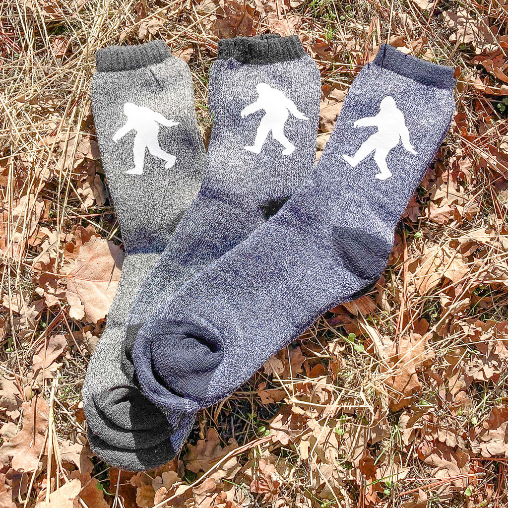Sasquatch Womens Socks for Winter - Sasquatch The Legend