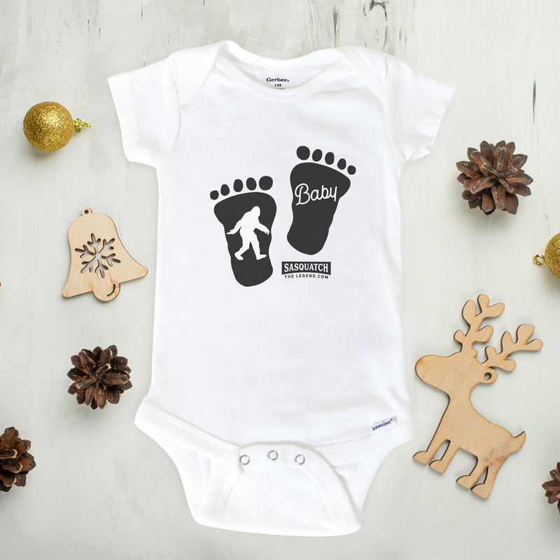 Bigfoot Baby Onesie - Sasquatch The Legend