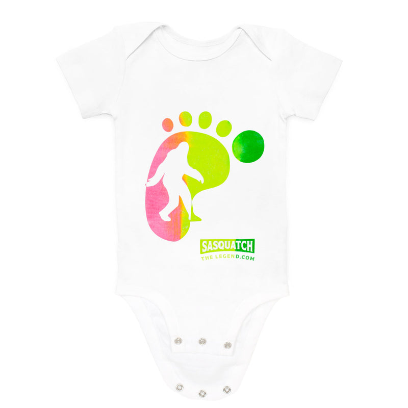 Sasquatch The Legend Baby Bodysuit - Sasquatch The Legend