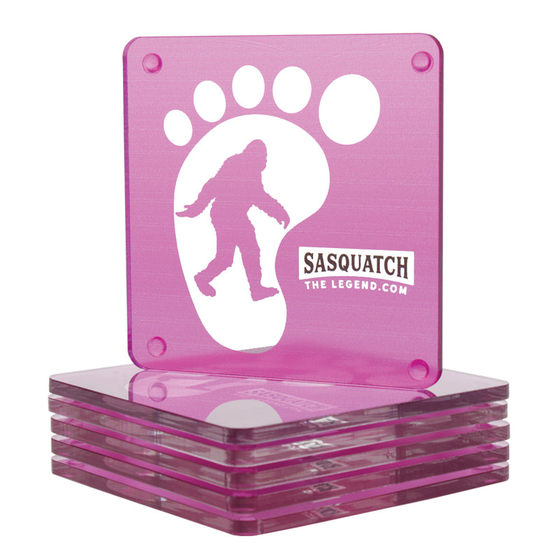 Sasquatch The Legend Acrylic Coasters - Sasquatch The Legend