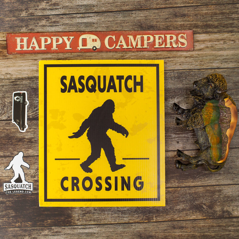Sasquatch Crossing Sign 12