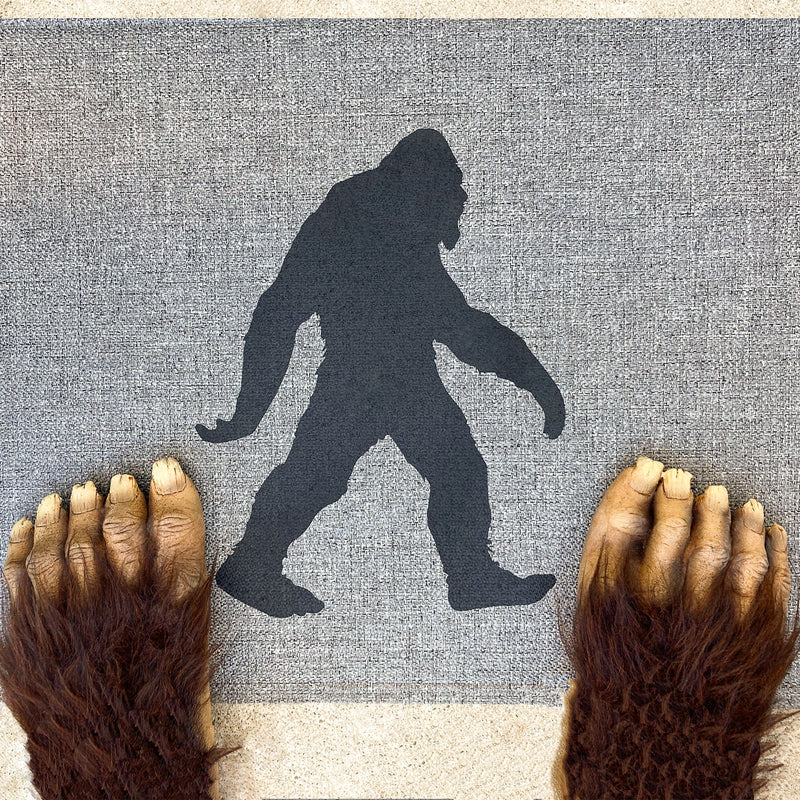 Bigfoot Doormat - Sasquatch The Legend